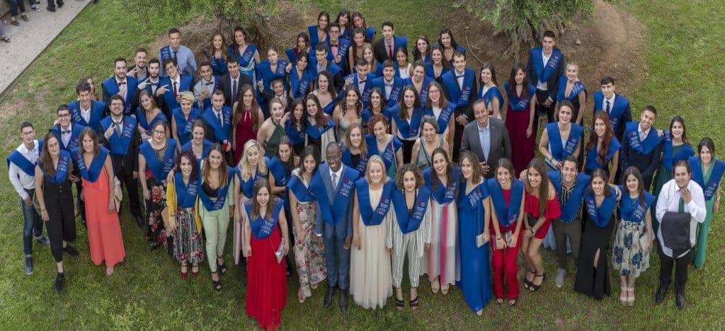 Sekisui Sponsored Chemistry 2019 Graduates from University Rovira I Virgili (URV) Tarragona Spain