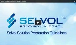 Selvol Solubilize Guide Video