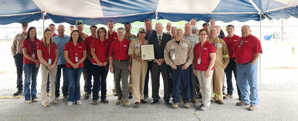 Calvert City Plant Awarded 9th Governors Safety Award