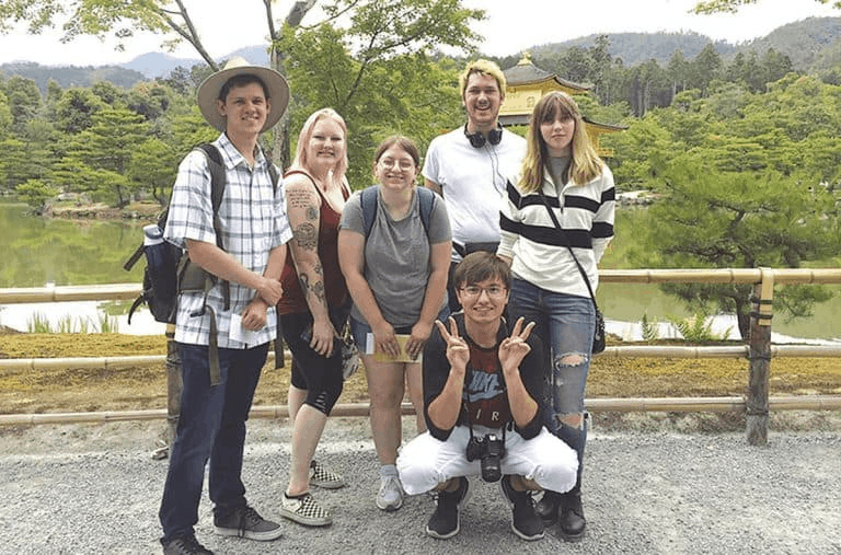 Murray State Students Study in Japan with Sekisui Scholarship