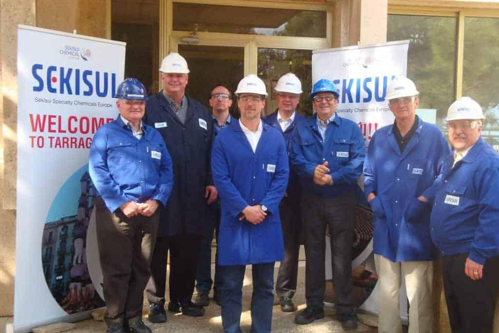Nobel Prize Winner Visits Sekisui Europe