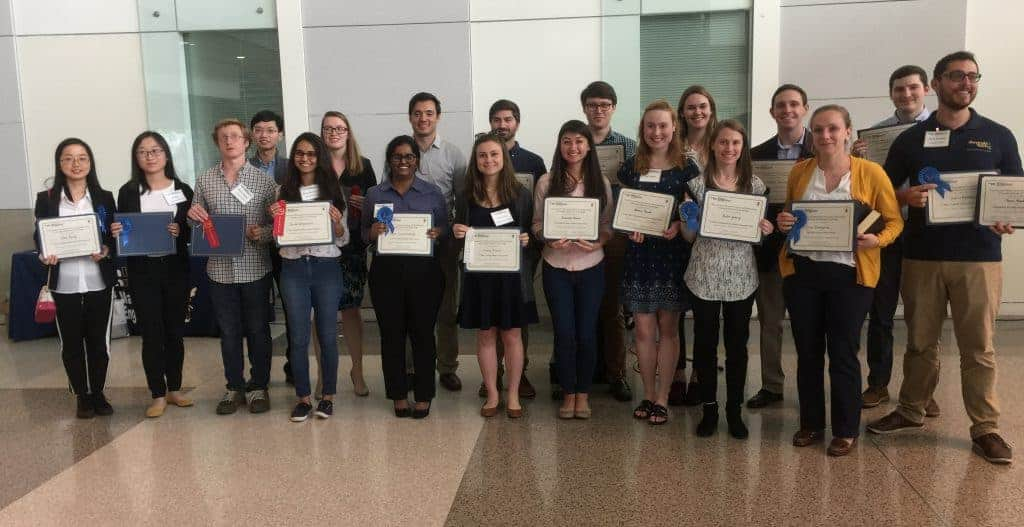 Annual Georgia Tech Material Sciences Poster Competition Sponsored by Sekisui Specialty Chemicals