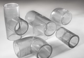 SEKISUI manufactures the first clear chlorinated polyvinyl chloride(CPVC) Fitting