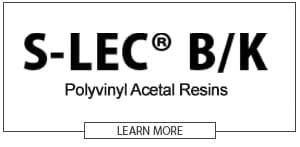 S-LEC B/K Polyvinyl Acetal Resins